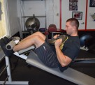 Weighted Decline Abdominal Crunches 5