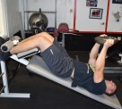 Weighted Decline Abdominal Crunches 3