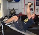 Weighted Decline Abdominal Crunches 2