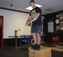 Depth Jump Plyometric Exercise 4