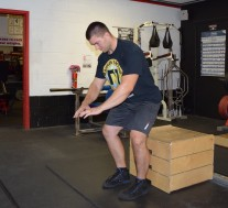 Depth Jump Plyometric Exercise 3