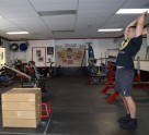 Plyometric Box Jump Exercise 10