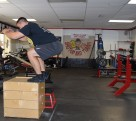 Plyometric Box Jump Exercise 5