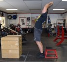 Plyometric Seated Box Jump Exercise 6