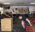 Plyometric Seated Box Jump Exercise 5