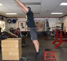 Plyometric Seated Box Jump Exercise 4