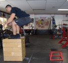 Plyometric Seated Box Jump Exercise 3
