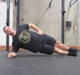 Side Plank Exercise 2