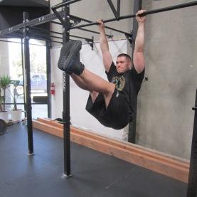 Hanging Leg Raises Abs Exercise 1
