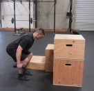 Weighted Box Jump Plyometric Exercise 5