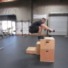 Weighted Box Jump Plyometric Exercise 4