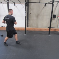 Walking Oblique Rotation Exercise 4