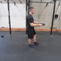Walking Oblique Rotation Exercise 2