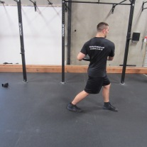 Walking Oblique Rotation Exercise 1