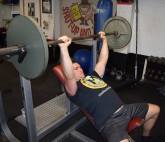 Incline Bench Press Exercise 2