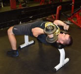Rolling Dumbbell Tricep Extensions 4