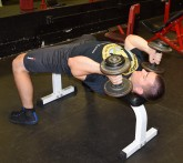 Rolling Dumbbell Tricep Extensions 2