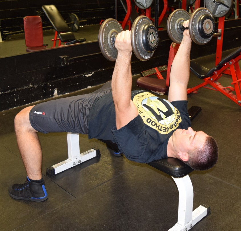 Rolling Dumbbell Tricep Extensions 1