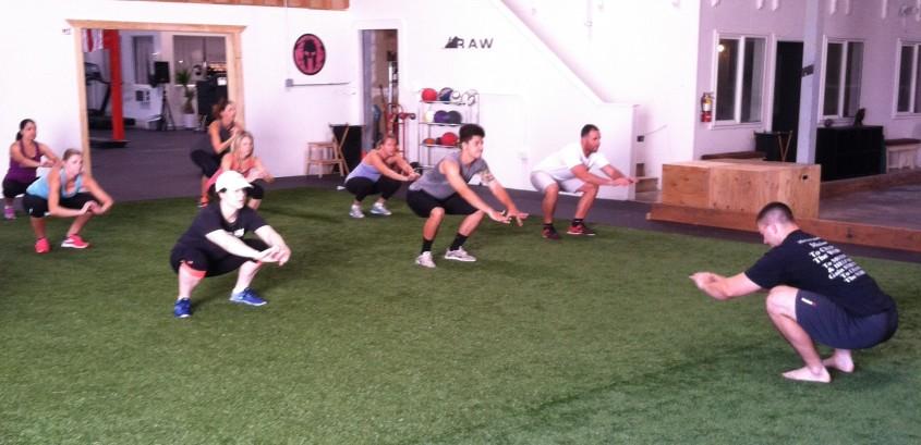 daily 30 paleo squat