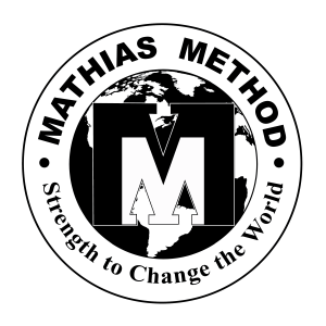 mathias method logo black and white logo