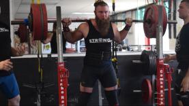 Reid England Powerlifter 430 Squat