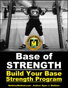 base of strength training program