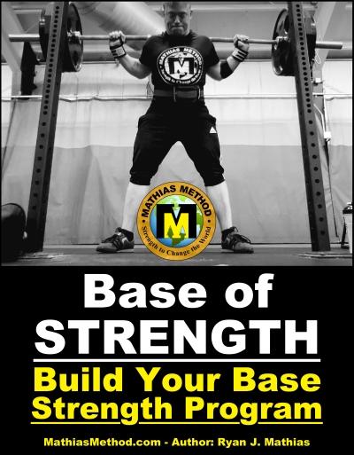 base of strength training program