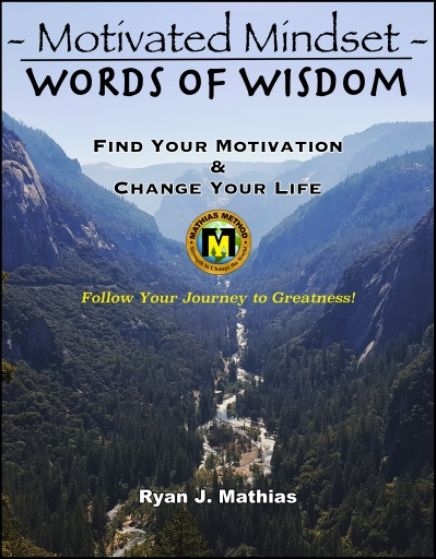motivated mindset words of wisdom cover