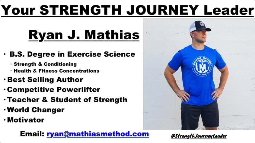 strength journey leader ryan j mathias