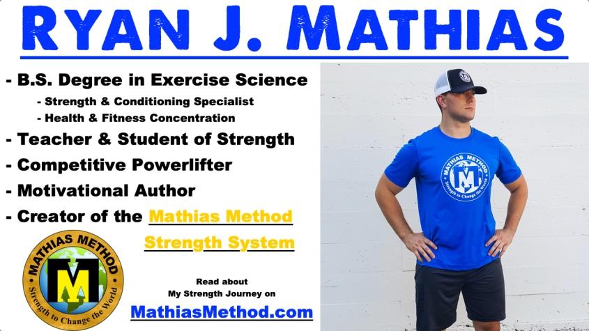 creator of the mathias method ryan j mathias